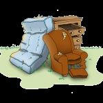 throw away furniture